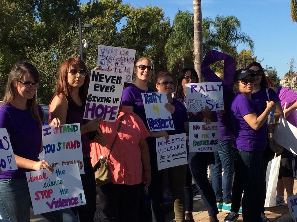 Honda Of Escondido >> North County rally against domestic violence - CBS News 8 ...