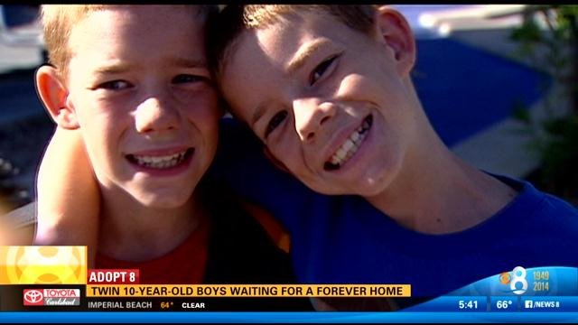 twin 10 year old boys waiting for a forever home cbs news 8 san