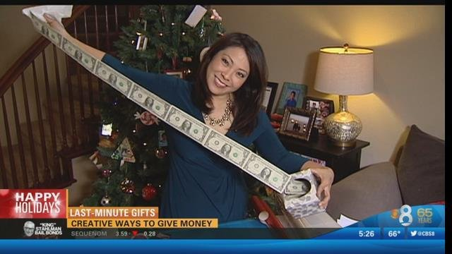creative ways to give money for christmas cbs news 8 san diego ca news station kfmb channel 8
