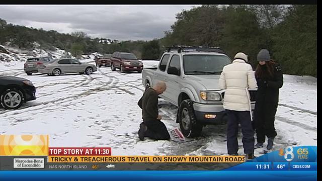 It snowed in San Diego? - YouTube