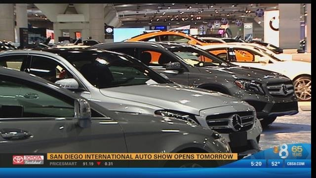 san diego international auto show opens thursday cbs