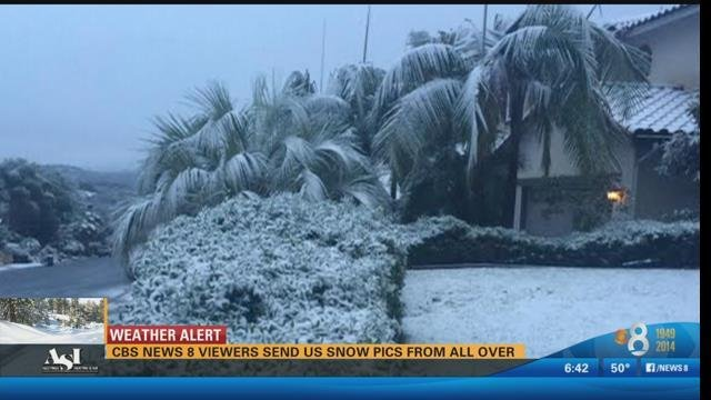 cbs news 8 viewers send us snow pics from all over - cbs news 8