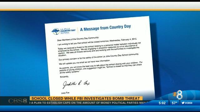 threat closes la jolla country day school classes resume