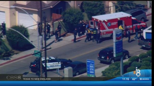 Police investigate officer involved shooting in southcrest for Worldwide motors san diego ca