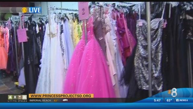 Princess Project Giving Away Free Prom Dresses Cbs News 8 San