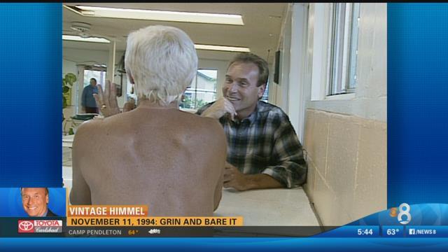 Vintage Himmel: Larry explores a nudist colony East of El