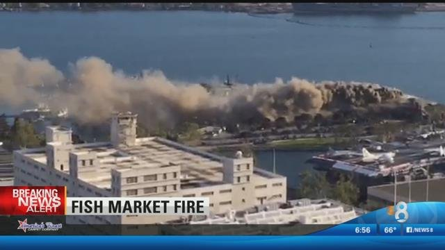 San Diego Honda >> Fish Market closed after fire rips through restaurant ...
