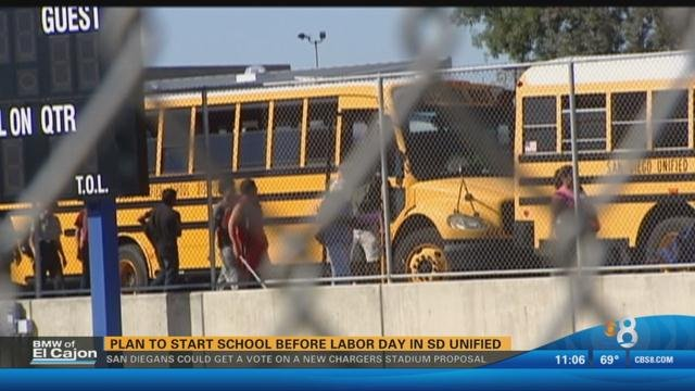 Start Date Changes For San Diego Unified School District Cbs News