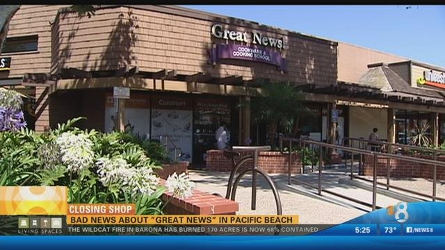 SAN DIEGO (CBS 8)   From Searing, To Sauces And Folding To Fricassee, Great  News Cooking Store Has Helped San Diegans Around The Kitchen.
