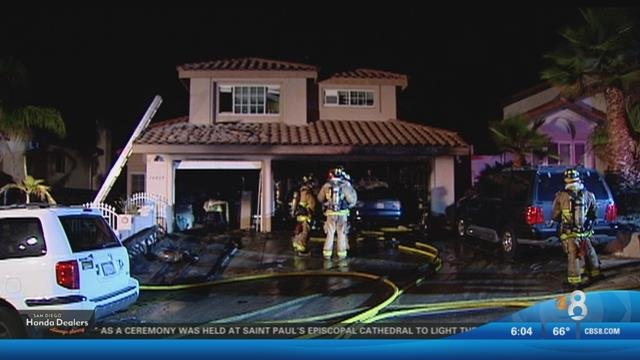 Car Catches Garage On Fire In Rochester: Car Catches Fire Just After Being Parked In Garage