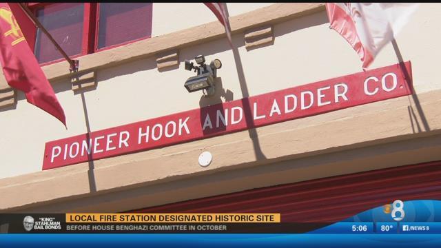 Local fire station designated historic site - CBS News 8 ...