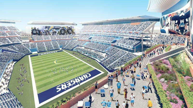 Lawyer Wants City To Restart Eir For New Chargers Stadium