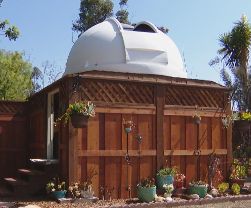 backyard observatory cbs news 8 san diego ca news station kfmb