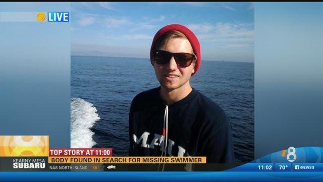 Body Found In Search For Missing Swimmer Cbs News 8