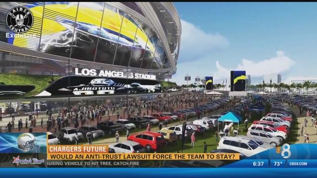 Could An Anti Trust Lawsuit Force The Chargers To Stay In