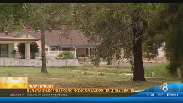 San Diego Honda >> Future of old Escondido Country Club up in the air - CBS ...