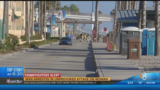 Man arrested in unprovoked attack on woman cbs news 8 for Worldwide motors san diego ca