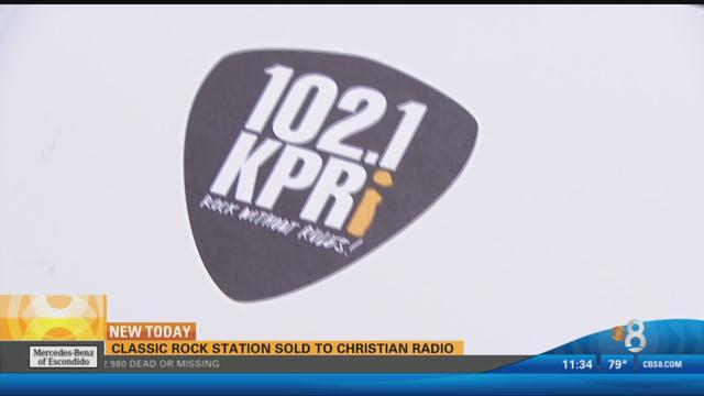 Local rock station sold to Christian radio - CBS News 8 ...