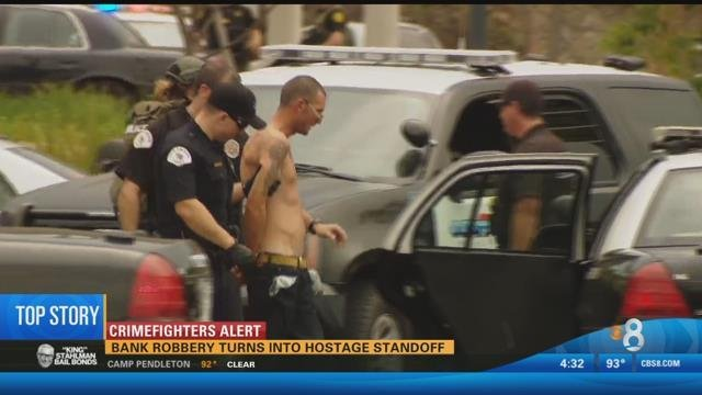 Attempted Bank Robbery Ends With Suspect In Custody Cbs