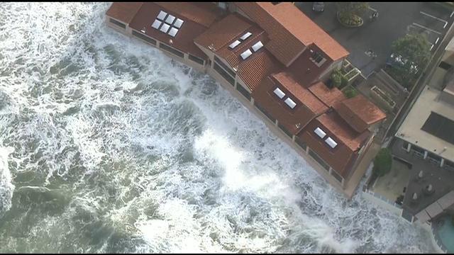 King Tides Caused Coastal Flooding Wednesday Cbs News 8 San Diego Ca News Station Kfmb