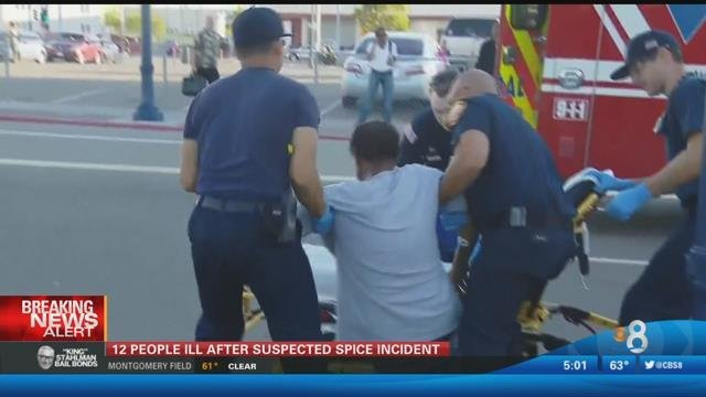 Several sickened by synthetic drug 'Spice' near Petco Park ...