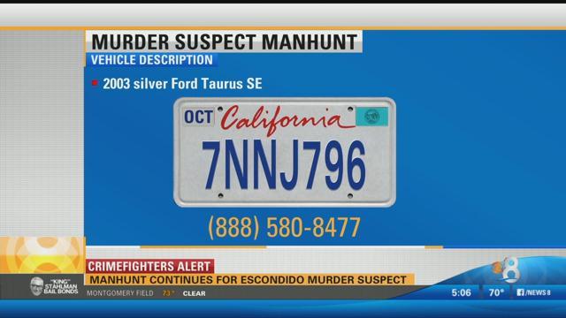 Manhunt continues for escondido murder suspect 100 7 kfm for 100 beauty salon escondido