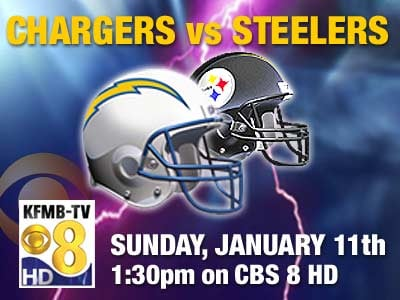Chargers Vs Steelers Broadcast Information