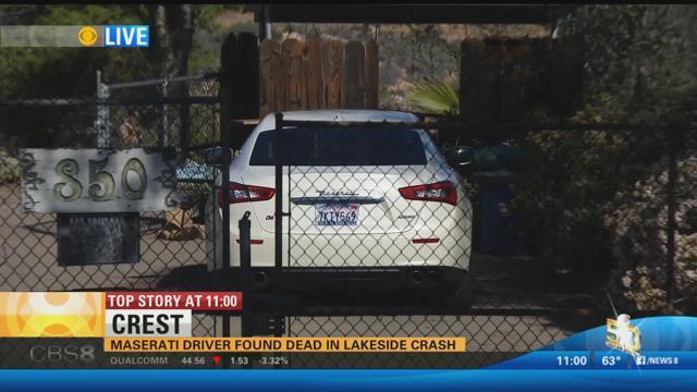 Man Dies Behind The Wheel Of Maserati In Crest