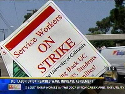 Uc Labor Union Reaches Wage Increase Agreement Cbs News 8 San