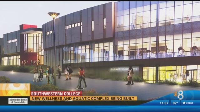 Honda Chula Vista >> New wellness and aquatic complex being built - CBS News 8 - San Diego, CA News Station - KFMB ...