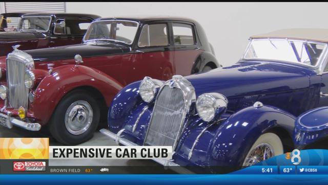 Luxury car garage will leave your motor running cbs news for Worldwide motors san diego ca