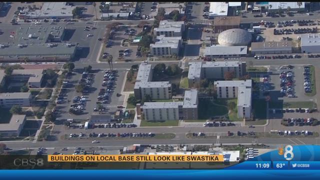 Buildings On Local Base Still Look Like Swastika Cbs News 8 San Diego Ca News Station