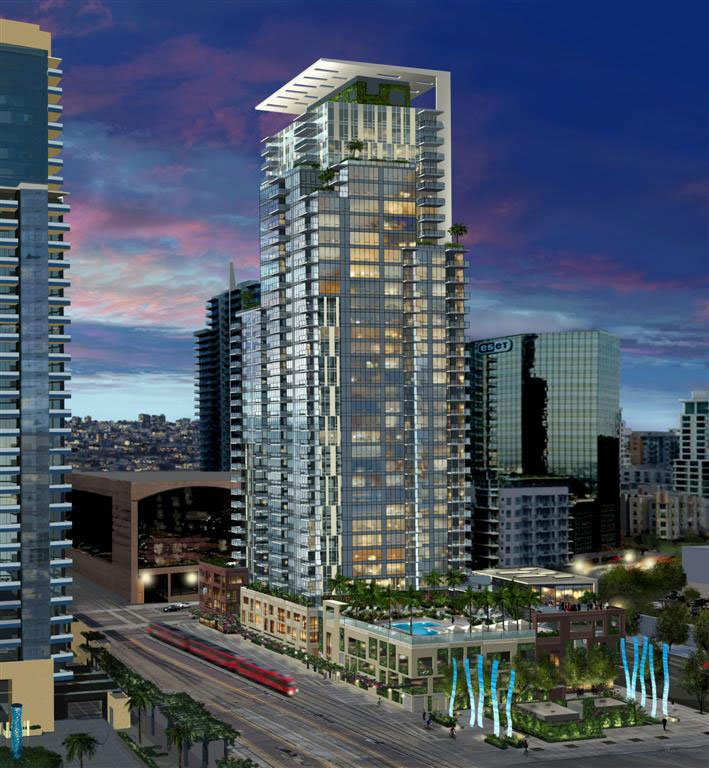 New high rise buildings coming to downtown san diego cbs - Apartment buildings san diego ...