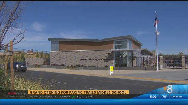 Grand Opening For Pacific Trails Middle School Cbs News