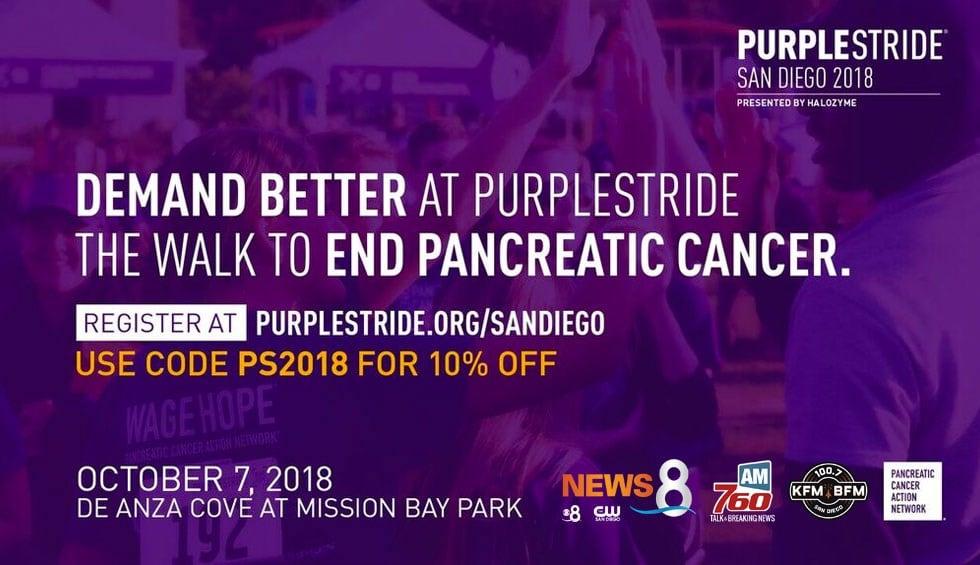 PurpleStride San Diego 2018
