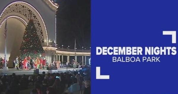 December Nights kicks off in Balboa Park