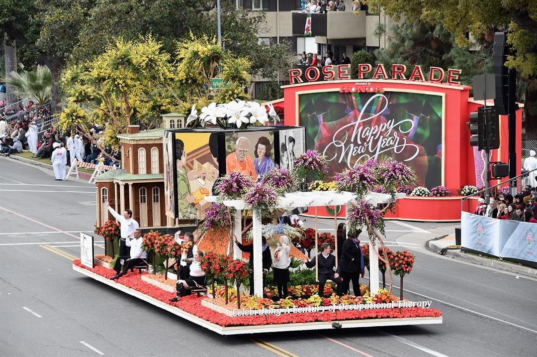The Occupational Therapy Association of California participates in the 128th Tournament of Roses Parade Presented by Honda on January 2, 2017 in Pasadena, California. (Photo by Alberto E. Rodriguez/Getty Images)