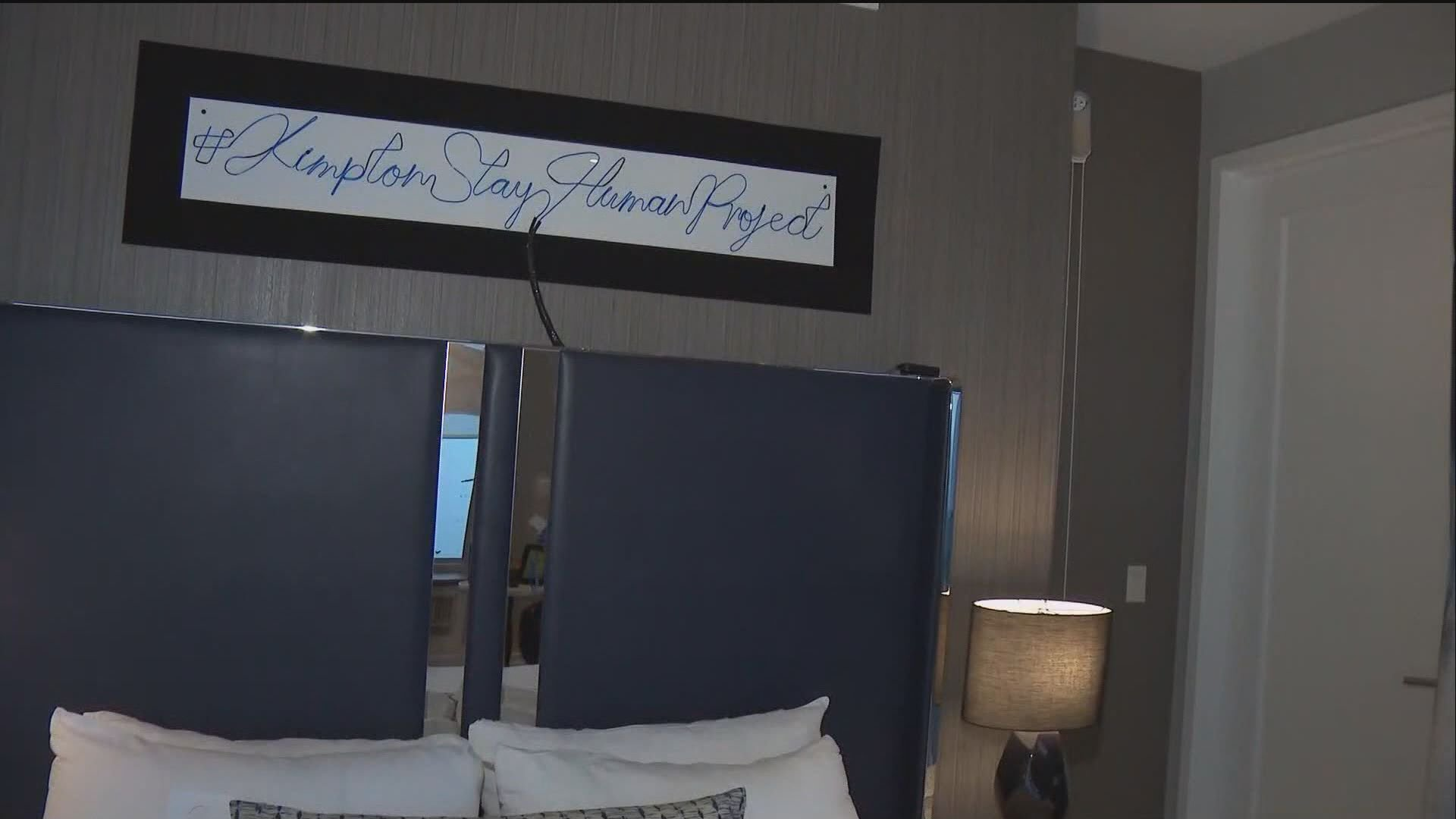 Hotel Palomar in San Diego connects guests through an in-room interactive social experiment