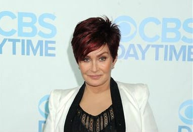 Sharon Osbourne arrives at the Daytime Emmy Awards Afterparty at The Beverly Hilton on Sunday, June 22, 2014, in Beverly Hills, Calif. (Photo by Katy Winn/Invision/AP)