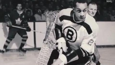 Longtime La Mesa resident and hockey legend Willie O'Ree ...