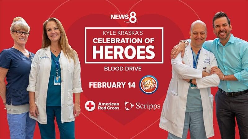 Kyle Kraska's Celebration of Heroes