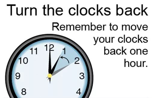 FALL BACK: Daylight saving time ends Sunday  Here are fun